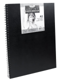 Royal Langnickel black sketch book - A3, 80 listov - RSB-A3